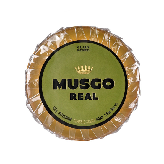 "MUSGO REAL Glycerinseife ""Classic Scent"" 165g"