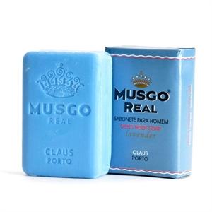 "MUSGO REAL Körperseife Men's ""Lavender"" 160g"
