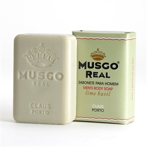 "MUSGO REAL Körperseife Men's ""Lime Basil"" 160g"