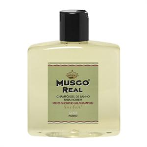 """MUSGO REAL Dusche """"Lime Basil"""" 250ml (TM 10ml)"""