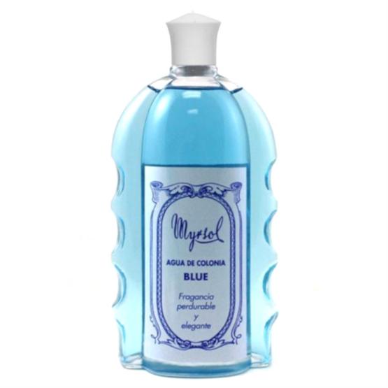 """MYRSOL Eau de Cologne """"Blue"""" Glasflasche 235ml"""