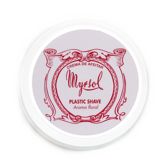 """MYRSOL Rasiercreme """"Plastic Shave"""" 150g"""