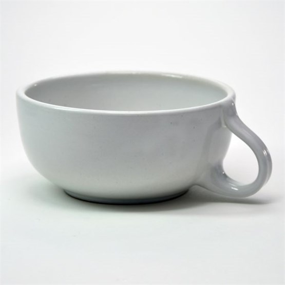SWK Rasier-Mug, Modell CLASSIC, Farbe WEISS