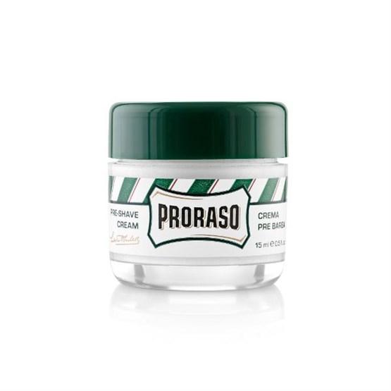 "PROBE 15ml PRORASO Pre-Shave ""klassisch"" (grün)"