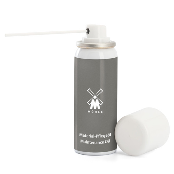 MÜHLE Material-Pflegeöl, Feindosier-Spraydose 50ml