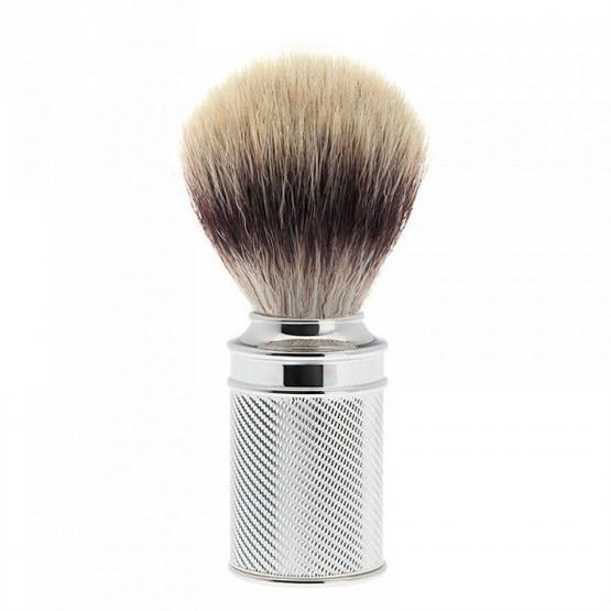 MÜHLE Rasierpinsel Silvertip Fibres® 21mm Chrom