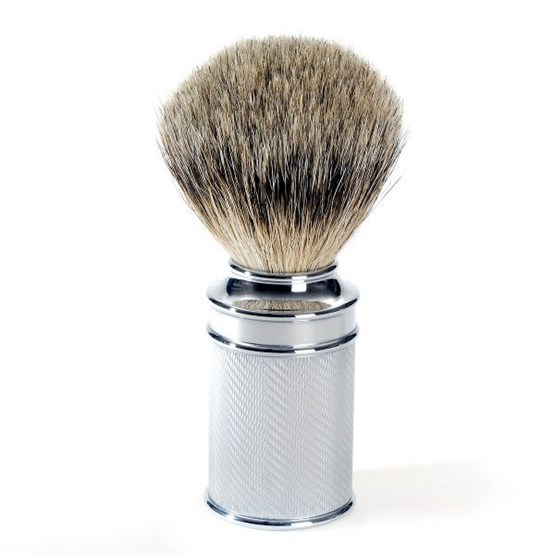 MÜHLE Rasierpinsel Silberspitze 21mm Chrom