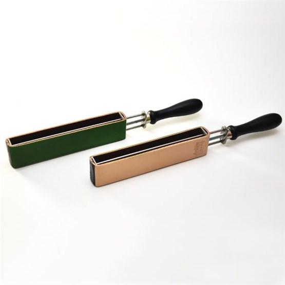Spannschraubriemen HEROLD 56J-grün Juchten/grün