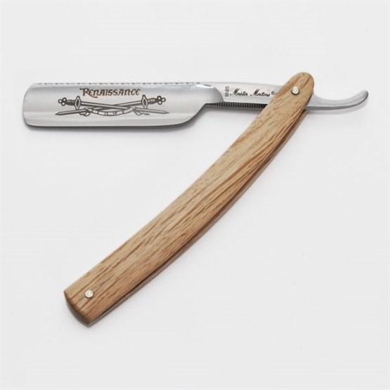 """Rasiermesser DOVO Spanische Eiche 6/8"""" Normalstahl"""