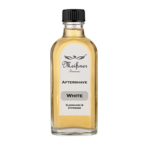 "Meißner Aftershave ""White"" Glasflasche 100ml"