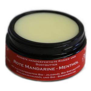 """Meißner Rasierbutter """"Mandarine - Menthol"""" 100ml"""