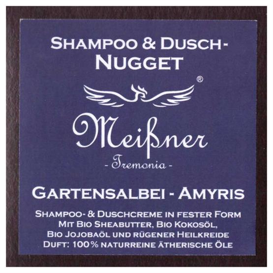 """Meißner Duschnuggets """"Gartensalbei - Amyris"""" 95g"""