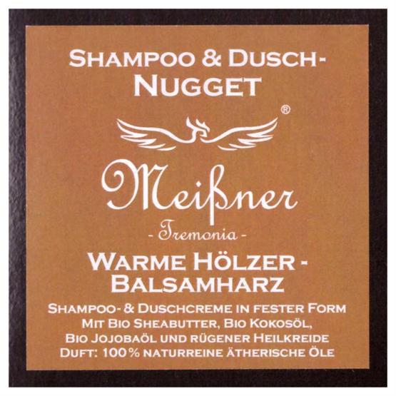 """Meißner Duschnuggets """"Warme Hölzer-Balsamharz"""" 95g"""