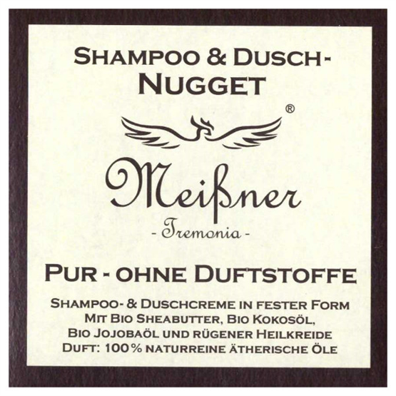 "Meißner Duschnuggets ""Pur - ohne Duftstoffe"" 95g"