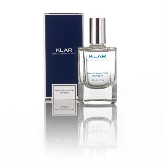 """KLAR Rasierwasser """"Klassik"""" 50ml (Testmenge 5ml)"""