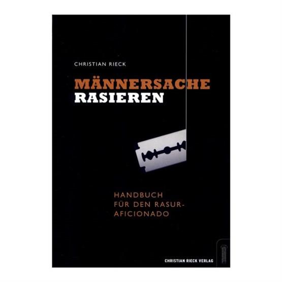 """BUCH Rieck """"Männersache Rasieren"""""""