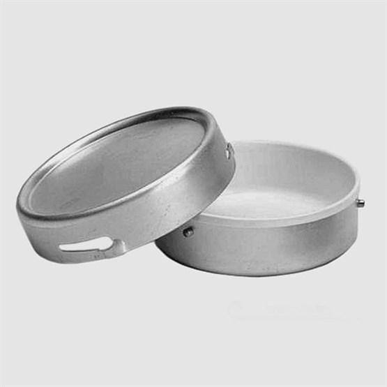 Aluminiumdose verschließbar, mit Kunststoffeinlage