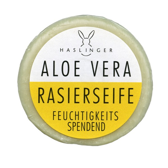 "HASLINGER Rasierseife ""Aloe vera"" 60g"