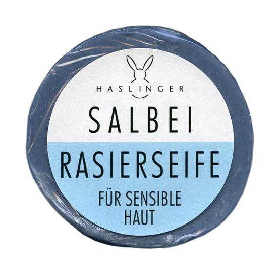 """HASLINGER Rasierseife """"Salbei"""" 60g"""