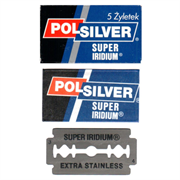 Rasierklingen Polsilver Super Iridium - 5 Klingen