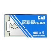 Rasierklingen KAI Stainless Steel DE - 5 Klingen
