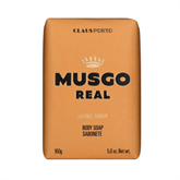 "MUSGO REAL Körperseife Men's ""Orange Amber"" 160g"