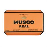 "MUSGO REAL Körperseife am Seil ""Orange Amber"" 190g"