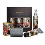 O MELHOR Geschenkbox (Peelingseife, RC, Balsam)