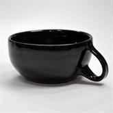 SWK Rasier-Mug, Modell CLASSIC, Farbe SCHWARZ