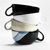 SCHWARZWEISSKERAMIK Rasier-Mug, Modell CLASSIC