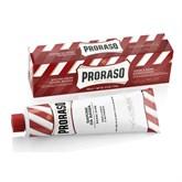 "PRORASO Rasiercreme ""pflegend"" (rot) Tube 150ml"