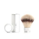 MÜHLE Reise-Pinsel Silvertip Fibres® 21mm Alu grau