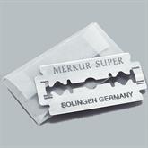 Rasierer MERKUR 30C Chrom/Alu schwarz, kurz