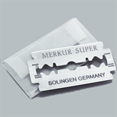 Rasierer MERKUR 44, Griff Aluminium mattiert