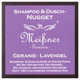 "Meißner Duschnuggets ""Geranie - Lavendel"" 95g"