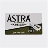 Rasierklingen ASTRA PLATINUM - 5 Klingen