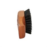 Bartbürste Typ 4, Birnbaumholz geölt, Naturborste