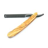 RMK Wechselklingen-Rasiermesser Olivenholz