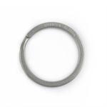 HANDGREY Titan-Schlüsselring klassisch 25 mm