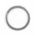 HANDGREY Titan-Schlüsselring klassisch 28 mm