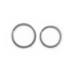 HANDGREY Titan-Schlüsselringe klassisch 25/28 mm
