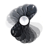 MOKEY Hand-Spinner (engl.: Fidget Spinner) Carbon